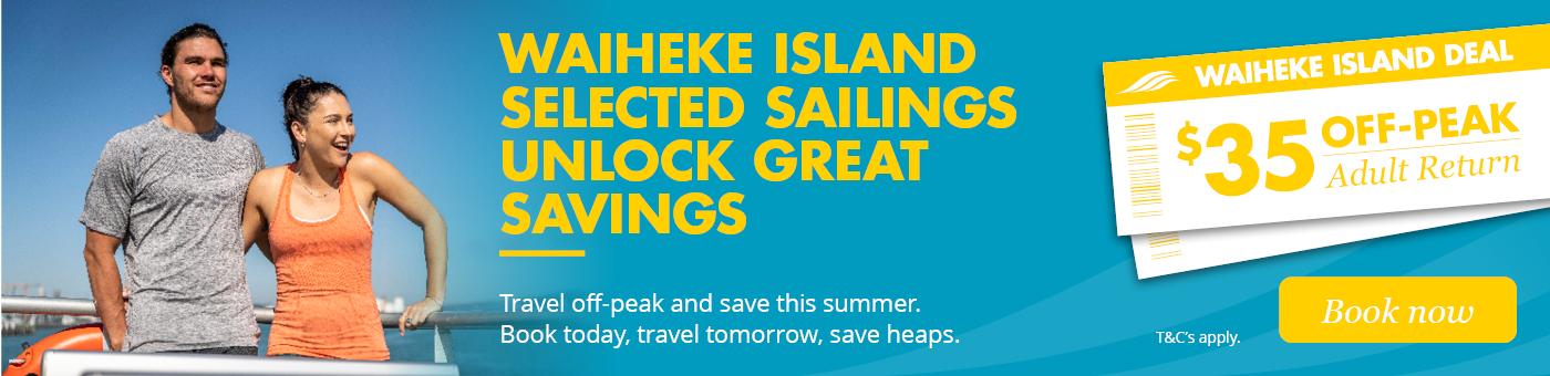 waiheke island $35 deal